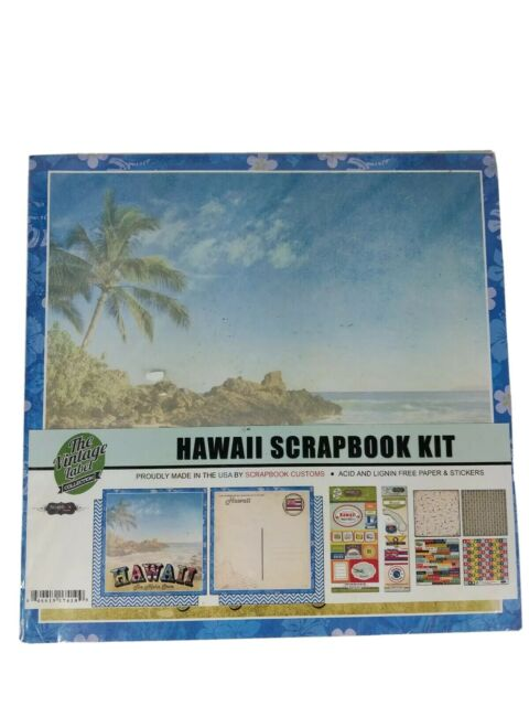 Scrapbook Customs Themed Paper and Stickers Scrapbook Kit Japan Sightseeing