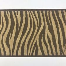 Rainbow Zebra Animal Print Wallpaper Border Wall Art Decals