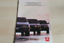 93870) Citroen AX BX XM Diesel Prospekt 03/1990