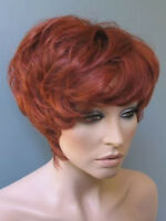 Zarah Leander Look ... Sündig-verruchte Glamour Perücke In Rot