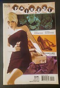 1st Print TV Vertigo DC VF//NM ADAM HUGHES COVER LOW RUN HOT!! Fairest #27 2013