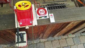 LGB-RIGI-Seilbahn-umgebaut-auf-Funkfernsteuerung-starker-24VGetriebemotor