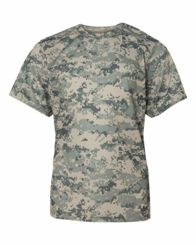 Badger YOUTH B-Core Camo Digital T-Shirt 2180 XS-L Polyester **22 Colors**