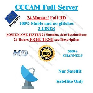 cccam service 24 months dreambox vu best price sat ebay