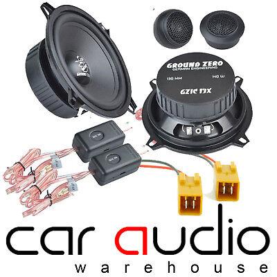 Peugeot 106 1991-2004 SCOSCHE 13cm 320 Watts 4 Way Front Door Car Speakers