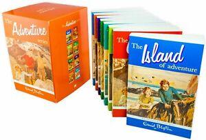 Enid-Blyton-Adventure-Series-8-Books-Children-Collection-Paperback-Box-Set