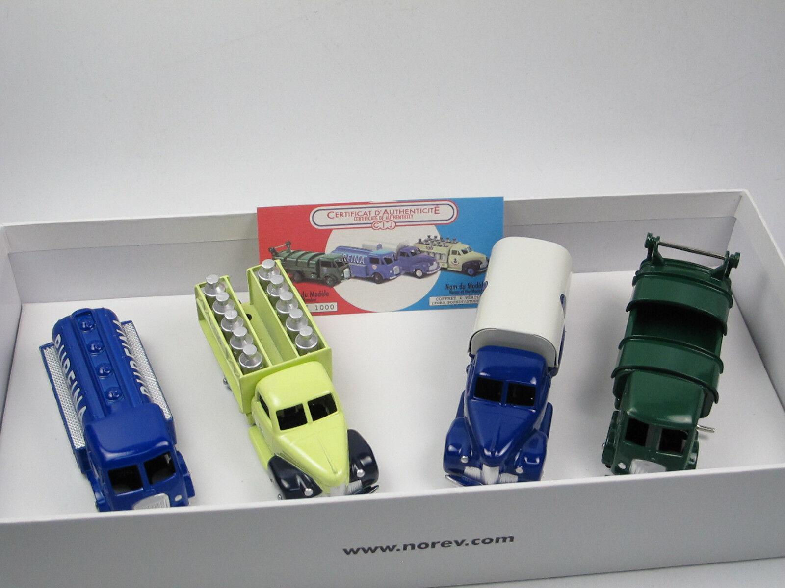 ahorra hasta un 50% Cij norev c80900-Coffret 4 x camions-Studebaker camions-Studebaker camions-Studebaker + ford construirle 1 43 - nuevo embalaje original  precios bajos