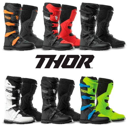 Thor Mens Pair Radial Off road Riding Dirt Bike Motocross MX Racing Boots
