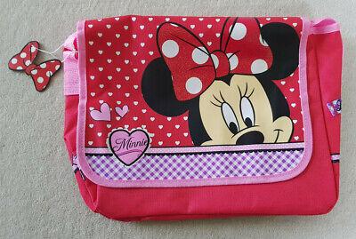 Disney Minnie Mouse Maus Schultertasche Tasche GroßE Vielfalt