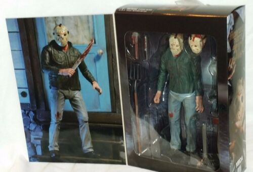 "NECA Ultimate Jason Voorhees 7/"" Figure Action vendredi la 13th partie III 3D Comme neuf dans emballage scellé"