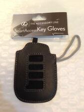 NEW Lexus leather Smart Key Cover FOB  2013 ES350 GS350 GS450h ES300h Oem 4 hole