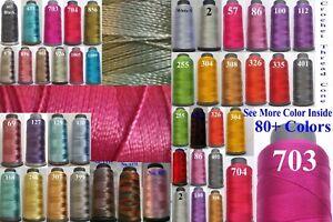 3-Rayon-Viscose-Silk-Crochet-Knitting-Embroidery-Thread-Yarn-Jewelry-Macrame