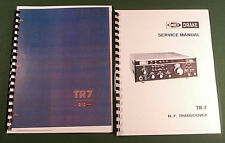 Drake TR-7 Instruction & Service Manuals: Premium Card Stock Covers & 32lb Paper