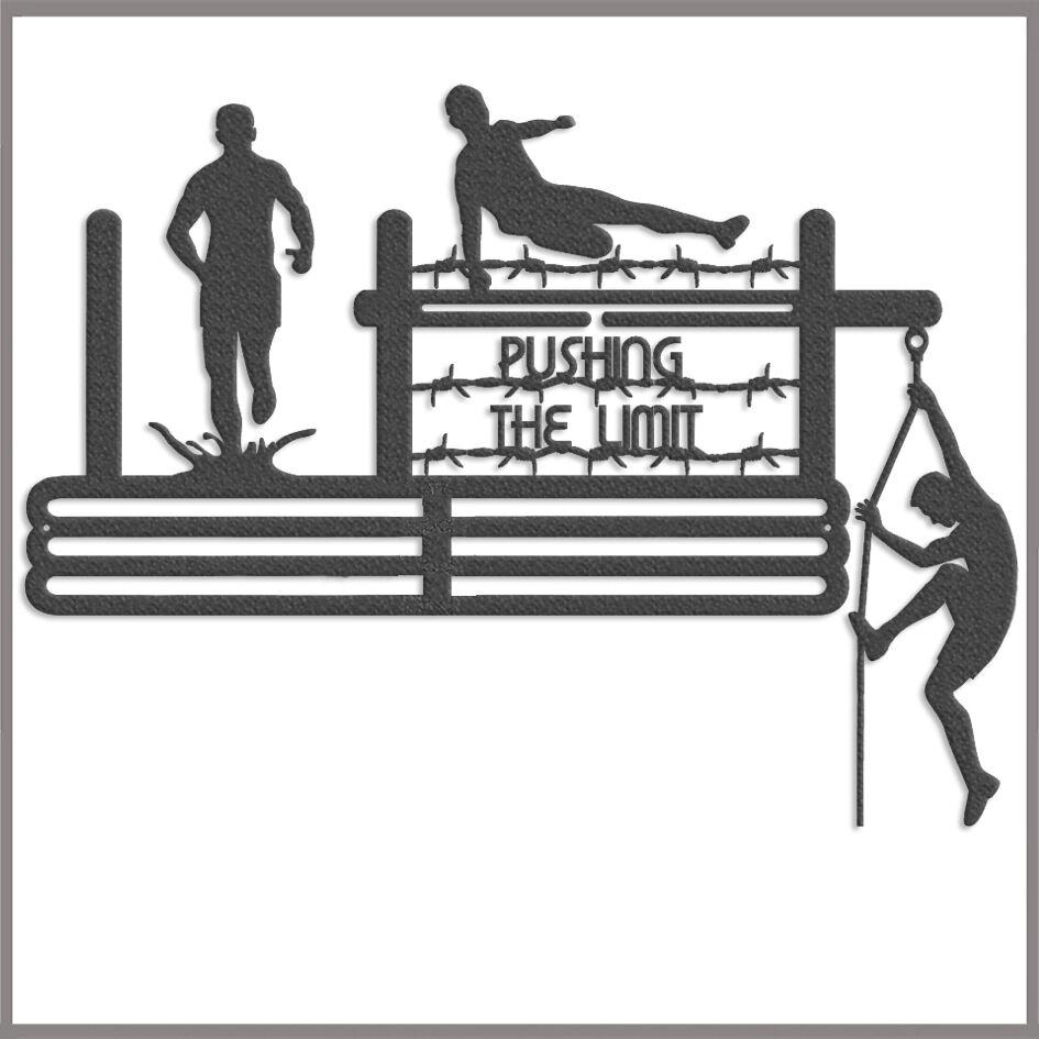 Medal Hanger Display Obstacle Racing POLYPROPYLENE