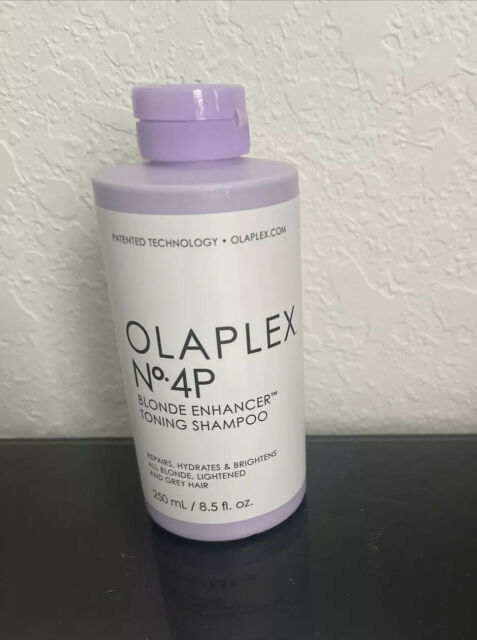 OLAPLEX No 4P BLOND ENHANCER  TONING SHAMPOO 8.5 fl. oz NEW,SEALED,AUTHENTIC