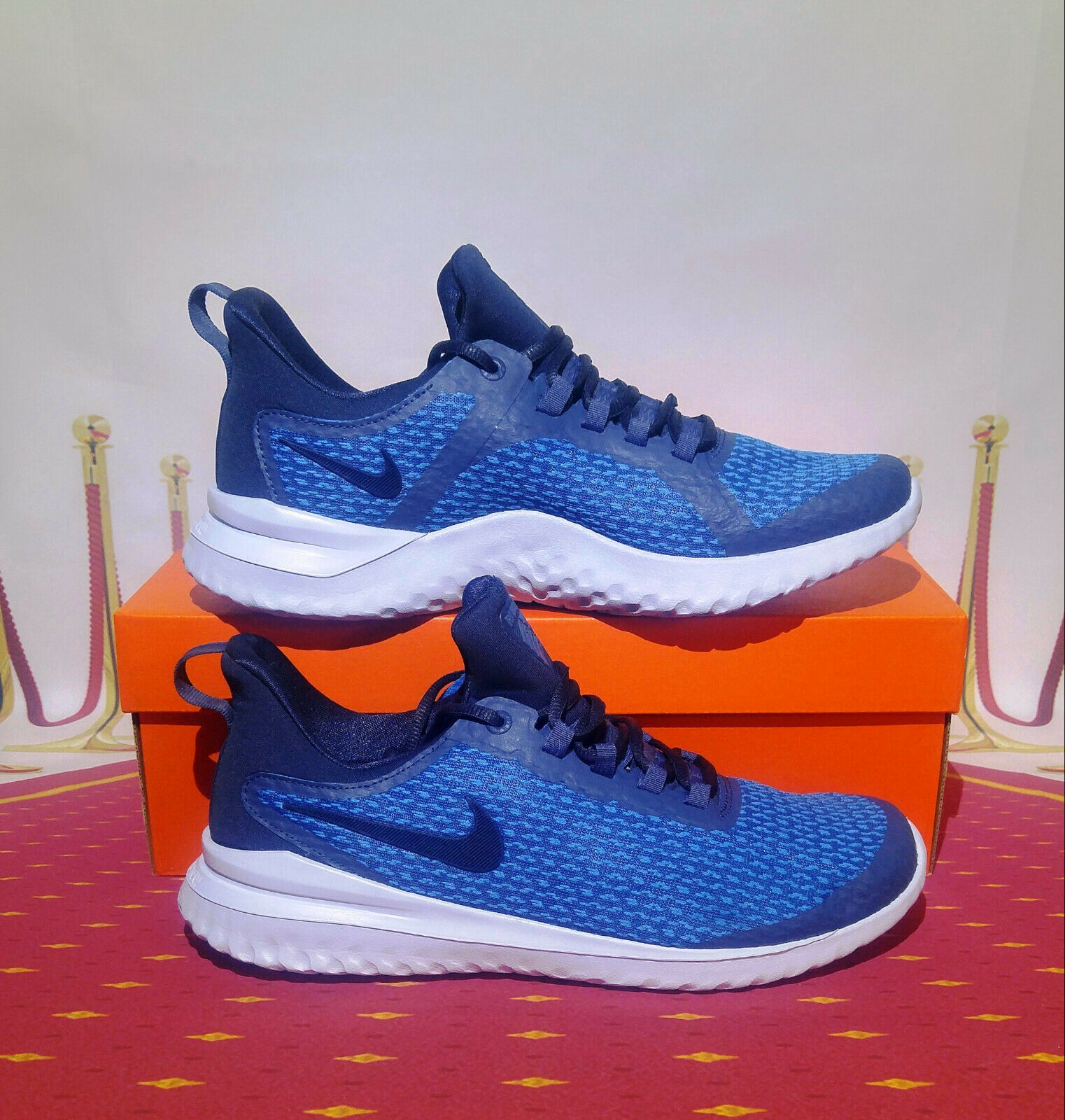 NIKE Renew Rival AA7400 400 Men;s shoes size 10-10.5-11.5 NEW