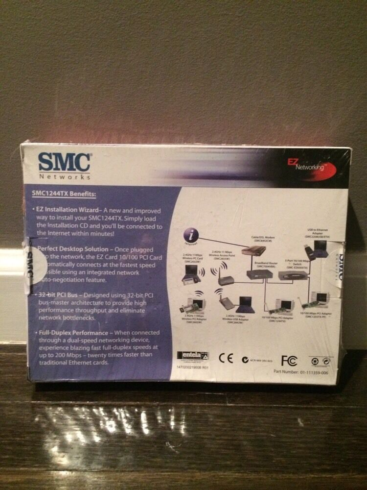 DRIVERS FOR SMC 1244TX