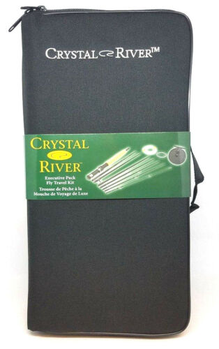 CR//EP-002A CRYSTAL RIVER EXECUTIVE PACK FLY FISHING TRAVEL KIT