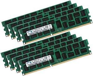 PC3-10600R DDR3 1333 ECC Reg RAM Memory Supermicro X9DRi-LN4F+ 48GB 6 X 8GB