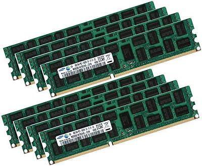 8x 8gb 64gb Di Ram Rdimm Ecc Reg Ddr3 1333 Mhz F Fujitsu Primergy Tx200 S6 (d2799)-