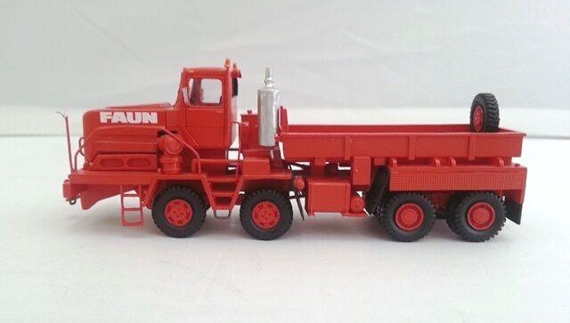 HO 1 87 FAUN HZ 70.80 50W - Ready Made Resin Model by Fankit Models