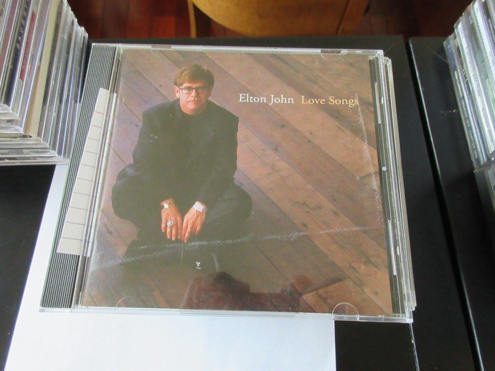 Elton John , Love Songs , CD 777499456426
