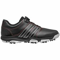 Men'sadidas Tour 360 X Boa Golf Shoes Black/red Q47062 - Pick Your Size