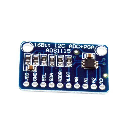 2//5//10x ADS1115 16-Bit Rate I2C Interface ADC Development Board Converter Module