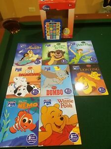 Disney-Story-Me-Reader-8-Board-Books-Electronic-Reader-Nemo-Pooh-Lion-King-More