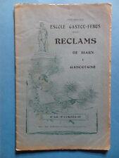 Reclams Béarn Gascogne N° 5-6 1956 Saint-Bézard Candau Larrouy Gastellu-Sabalot