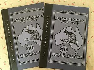 Collection-of-2013-Australian-Post-Year-Book-Album-with-Stamps-Deluxe-Edition