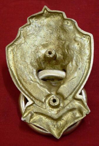 Lion Head Door Knocker Brass Jungle King With Crown Door Knocker Home Dec BM142