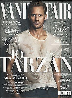 Vanity Fair magazine Alexander Skarsgard Rihanna Anthony Kedis Orland tragedy