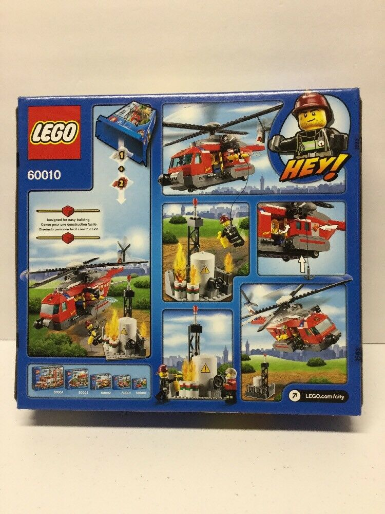 LEGO 60010 CITY FIRE HELICOPTER HELICOPTER HELICOPTER - Brand New Sealed Retired & Hard To Find 0eedc5