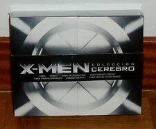 X-MEN-COLECCION CEREBRO-PACK 7 DISCOS BLU-RAY-NUEVO-PRECINTADO-NEW-SEALED-ACCION