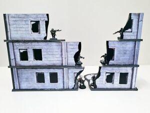 Urban-Ruins-Set-Warhammer-terrain-scenery-Digital-Download-wargame-40k-28mm