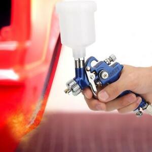 Gravity Airbrush Car Spray Gun Oil Painting Pneumatic Airbrush Connector HVLP