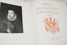 DON JUAN D'AUTRICHE SILHOUETTES ESPAGNOLES ILLUSTRE GILLON 1954
