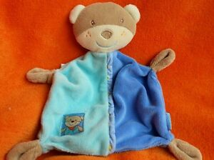 Baby Dream Beige Blue Bear Baby Comforter Baby Soft Toy Doudou Blankie  Velour - <span itemprop=availableAtOrFrom>Woburn Sands, Buckinghamshire, United Kingdom</span> - Please refer to our About me page for full terms and conditions. Most purchases from business sellers are protected by the Consumer Contract Regulations 2013 which g - Woburn Sands, Buckinghamshire, United Kingdom