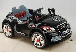 AUDI TT KIDS ELECTRIC TOY RIDE ON CAR PARENTAL REMOTE CONTROL - Audi electric toy car