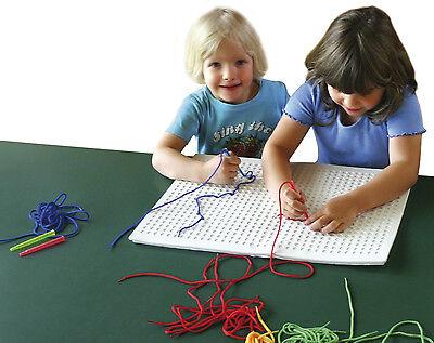 STICKSPIEL Sticken Stick Spiel Prickeln Prickel Kinder Pickboard Pick Board fest