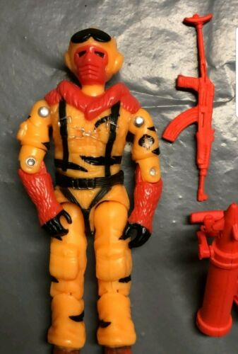 GI Joe 1985 style Snow Serpent Custom Noir Major New 2019 Tigres sang Serpent