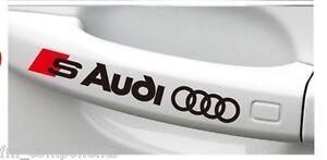 4x-adhesivo-Audi-Sline-A1-A2-A3-A4-A5-A6-A7-A8-Q3-Q5-Q7-TT-B8-stickers-pegatina