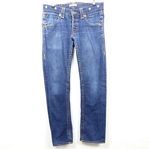 TRUE RELIGION Jeans Herren Denim Pants Limited Edition Blau Gr. W32