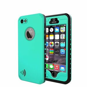 Apple-iPhone-SE-5S-5-Waterproof-Case-Cover-Shockproof-Touch-ID-Screen-Protector