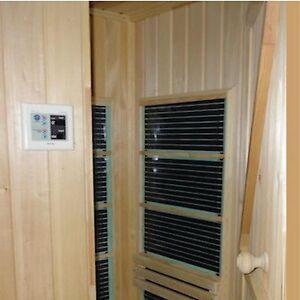 infrarot carbon heizfolie 400watt m f r sauna infrarotkabine w rmekabine ebay. Black Bedroom Furniture Sets. Home Design Ideas