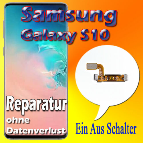 Akku Reparatur Samsung Galaxy S10 SM-G973F Display Frontglas