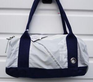 252b2cd25c4d WOMEN`S NEW FILA HANDBAG NAVY   OFF WHITE SHOULDER BAG