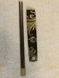Chinese-Reusable-Chopsticks-Eco-Friendly-Wooden-With-Presentation-Sleeve-Case