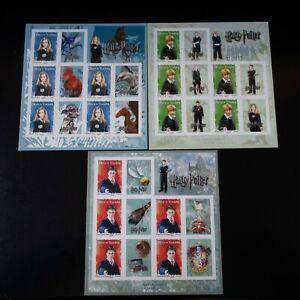 Frankreich-Briefmarke-Selbstklebend-Fete-des-Briefmarke-2007-n-114-116-Neuf-Mnh